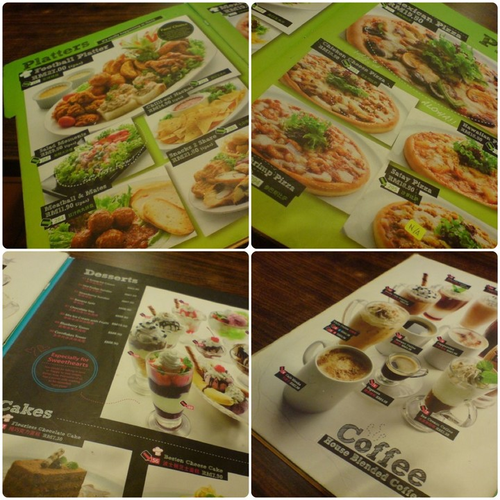 Food music and friends at station one cafe miri city for X cuisine miri menu