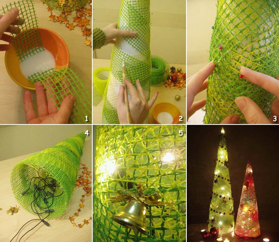 11 creative christmas tree making ideas for Creative christmas ideas