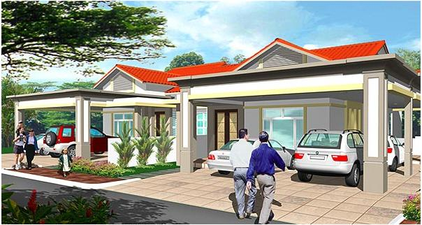 Palm Villa 2 - Single Storey Semi-Detached House