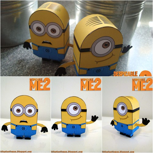 LoTeCLB: Despicable Me Minions - DIY