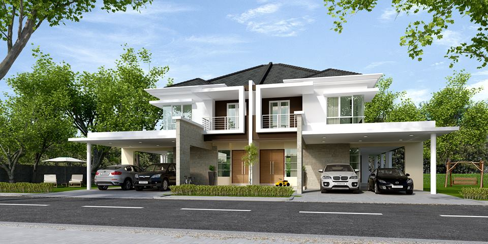 16 Units Double Storey Semi-Detached Houses