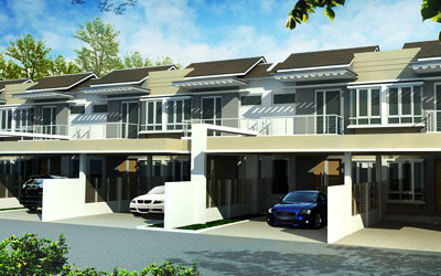Greenville Phase 4 Double Storey Terrace House