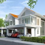 Beautiful Modern Design Double Storey Semi Detached House 1