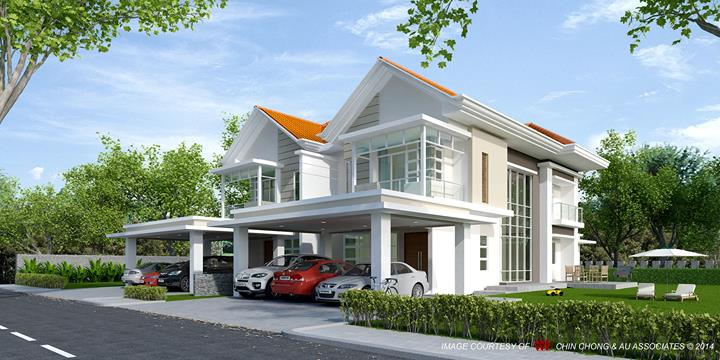 Modern Semi Detached House Plans Zion Star