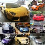Luxury Super Cars Photos in Miri City