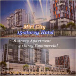 15 Storey Hotel with 250 Rooms by Chinese Associations Miri