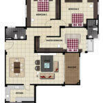 LiteView 4 Miri Apartment Type B Floorplan