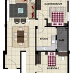 LiteView 4 Miri Apartment Type D Floorplan