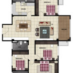 LiteView 4 Miri Apartment Type E Floorplan