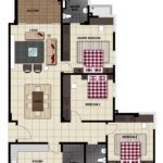 LiteView 4 Miri Apartment Type F Floorplan