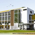 Artist Impression of new School of Engineering and Science building