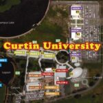 Curtin University Online Map
