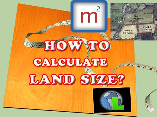 How To Calculate Land Size Area Point