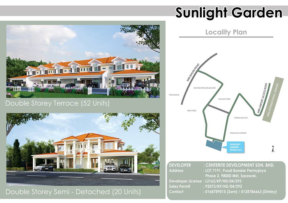 Sunlight Garden Miri Housing Project