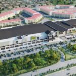 Permy Street Mall Aerial View